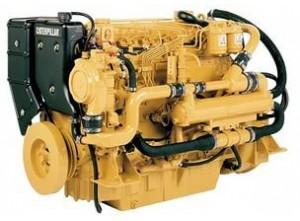 Судовой двигатель Cat